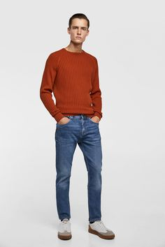 6d893d5c0f Image 1 of PREMIUM SLIM FIT JEANS from Zara Jeans Fit