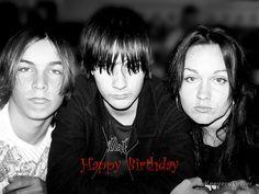 Happy Birthday by Donna Keevers Driver (Three of my kids. L-R: Matt, Tim and Amanda.