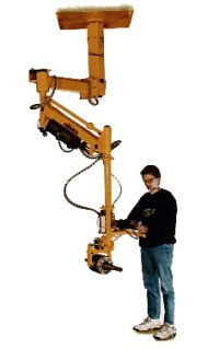 gci p3 manipulator - Handling electric motor rotor