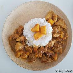 poulet à la mangue, recette mangue