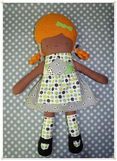 Fabric Cloth Plush Rag Doll