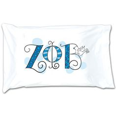 Zeta Phi Beta Sorority Dot Pillowcase #ZetaPhiBeta #Greek #sorority #Zeta #accessories #accessory #pillowcase