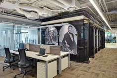 Surf white office and we on pinterest - Pernod ricard head office uk ...