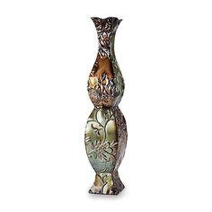 """Elements 24"""" Decorative Vase - Floral"""