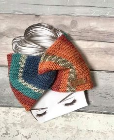 Excited to share the latest addition to my #etsy shop: Handmade Knitted Twisted Turban Ear Warmer #earwarmer #Headband Teens Ladies #birthday #christmas #bohohippie #ladies #teens #ladieshat #knittedturban Red Blue Green, Green Satin, Leopard Print Hair, Ear Warmer Headband, Acrylic Wool, Ear Warmers, Turban, Hair Ties