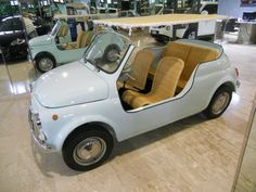 Fiat Nuova 500 Jolly Thailandia Carrozzeria Ghia (1965)