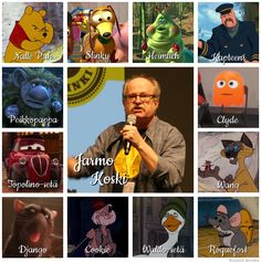 Suomalaiset dubbaajat: Jarmo Koski - Disnerd dreams Fallout Vault, Pixar, Dreams, Baseball Cards, Boys, Disney, Fictional Characters, Baby Boys, Pixar Characters