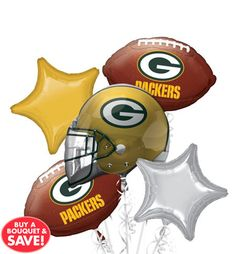 NFL Green Bay Packers Party Supplies, Decorations & Party Favors - Party City