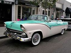 1955 Ford Crown Victoria convertible