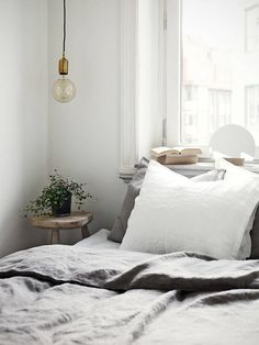 Beautiful Grey Bed Linen