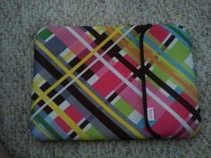 This is the reverse side of my new laptop sleeve.