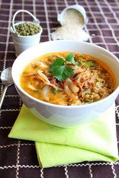 Gujarati Mung Bhaat- Mung Bean and Rice Soup | K.O Rasoi