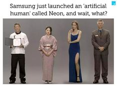 "Samsung-backed company Star Labs launched an ""artificial human"" called Neon at CES that can answer human queries in near-real-time. Marketing Plan, Business Marketing, Content Marketing, Internet Marketing, Social Media Marketing, Digital Marketing, Event Marketing, Marketing Strategies"
