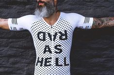 This would be sick as a black top and white writing Women's Cycling Jersey, Cycling Wear, Cycling Jerseys, Cycling Outfit, Bike Wear, Bicycle Clothing, Sport Outfits, Sick, Sportswear