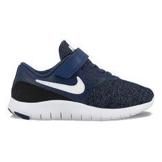 Nike Flex Contact Preschool Boys' Sneakers, Size: 13, Dark Blue