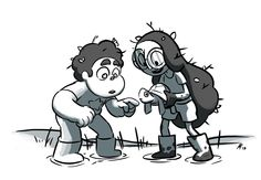 aleth romanillos   From Storyboard Revisionist Aleth Romanillos:Steven and Connie!!!