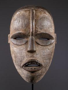 Le masque africain ibo.