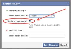 Very useful info on locking down your Facebook profile.