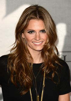 "Stana Katic; stars as ""Det. Kate Beckett"" on ""Castle."""