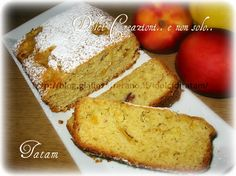 Plum cake alle pesche | ricetta senza uova