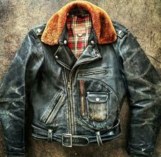 Stuck for words on this one. Just a stunning horsehide motorcycle jacket in every detail.
