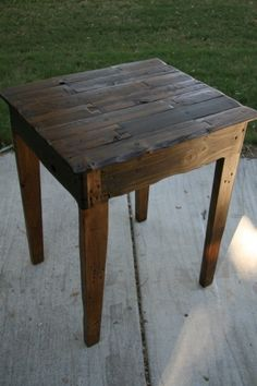 Reclaimed Wine barrel table