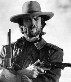 """I have a very strict gun control policy: if there's a gun around, I want to be in control of it.""  - Clint Eastwood"