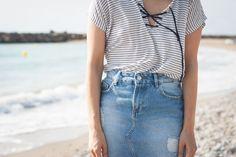 #stripes #pimkie #denim #streetstyle #blog #blogger #look