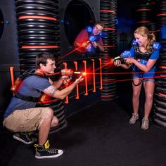 Buy tickets online to LazerPort Fun Center. Play laser tag, mini golf, go karts, and more. We have the best deals to all attractions in Gatlinburg and Pigeon Forge.
