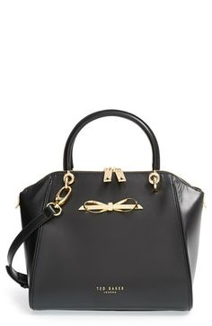 Ted Baker London 'Small' Slim Bow Tote available at #Nordstrom in baby pink