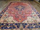Ca1930 VGDY ANTIQUE PERSIAN HAJJALILI SERAPI TABRIZ HERIZ 7x10 ESTATE SALE RUG