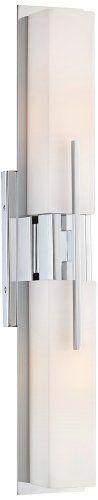 "Possini Midtown 23 1/2"" High Chrome Bath Bar Light Fixture Possini Euro Design http://www.amazon.com/dp/B0079IYWGO/ref=cm_sw_r_pi_dp_tww8tb19ZPWHA"