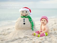 Christmas on the Beach -28 Crazy Cute Christmas Photo Card Ideas ...