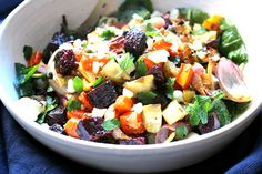 banish your winter woes with this hearty salad — Crunchy Radish Vegetable Salad, Vegetable Dishes, Healthy Lunch Recipies, Vegetarian Recipes, Suddenly Salad, Food Should Taste Good, Winter Vegetables, Root Vegetables, Veggies