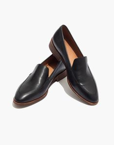 18d769defc6 Frances loafer from Madewell in true black leather