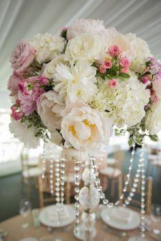 Wedding reception centerpiece idea via Matt Ramos Photography - Deer Pearl Flowers / http://www.deerpearlflowers.com/reception-decor/wedding-reception-centerpiece-idea-via-matt-ramos-photography/