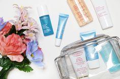 The Beauty Corner's Clarins travel essentials...