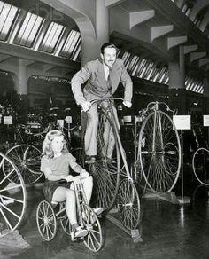 Walt Disney on a Star Rover...