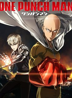 Don't let the poster fool you. One Punch Man is the funniest anime of the season.