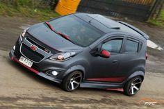 Chevrolet Spark, Kia Picanto, Spark Gt, Bens Car, Smart Roadster, High Performance Cars, Honda Fit, Car Mods, City Car