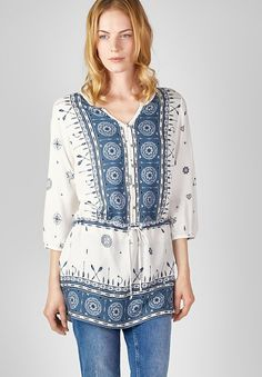 CECIL Weite Longstyle Bluse