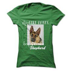 German ShepherdThis girl loves her German ShepherdGerman Shepherd, dog, pets