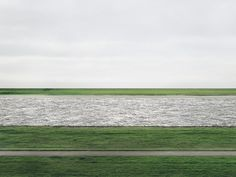 Rhein II by Andreas Gursky / #Photography