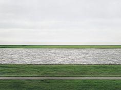 Rhein II by Andreas Gursky