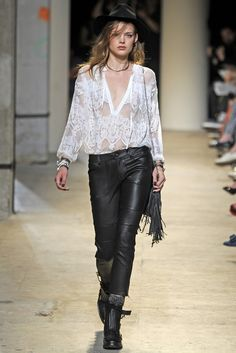 Zadig & Voltaire RTW Spring 2014 - Slideshow - Runway, Fashion Week, Reviews and Slideshows - WWD.com