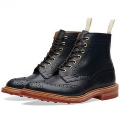 END. x Tricker's Club Sole Stow Boot