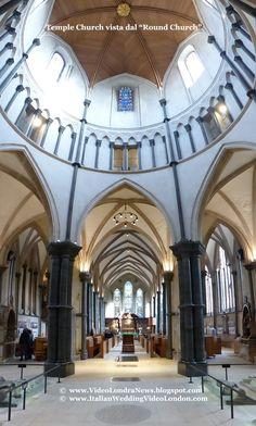Temple Church - Round Church *** Temple Church, a Londra la chiesa dei Templari *** #Londra #London #TempleChurch