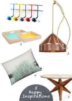 A selection of happy finds for the home