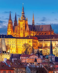 No need to head to the mountains for your fairytale castle fix  this ones right in the heart of it all. Grab tickets to Prague Castle (a.k.a. the Guinness World Record holder for largest ancient castle in the world) on TripAdvisor then let the fantasy unfold.