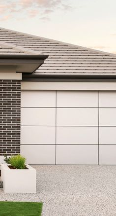 Our Ultimate Sectional Garage Doors are all about flaunting absolute street appeal. Create a custom design to suit your taste and budget. Centurion's Ultimate Range doors are each distinctive in their own right. Sectional Garage Doors, Custom Design, Detail, Architecture, Frame, Outdoor Decor, Modern, Home Decor, Arquitetura